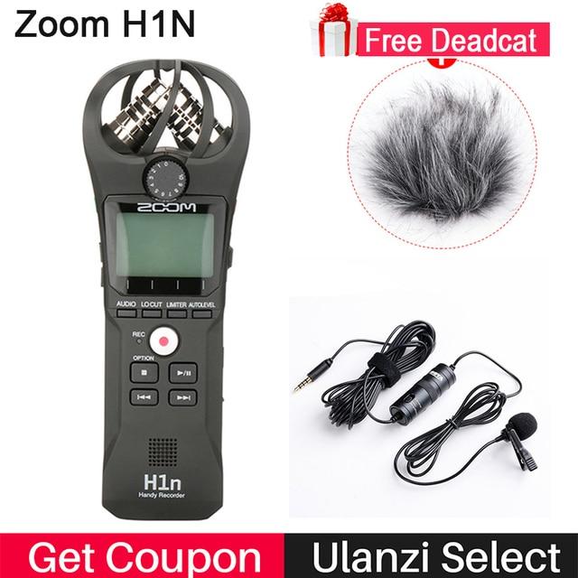 Zoom H1 H1n Handy Recorder Digital Camera Audio Recorder Interview