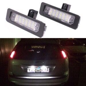 2 шт. яркий белый светодиодный светильник номерного знака Для Ford Mustang 2010-2014 Focus aurus Flex Fusion Mercury sable 2008 milan
