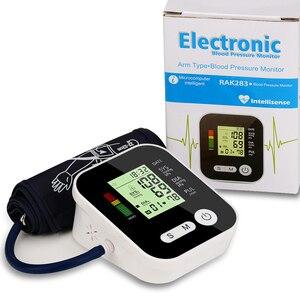 Image 4 - Цифровой тонометр для измерения артериального давления, медицинское оборудование, прибор для измерения давления, домашний ЖК монитор здоровья