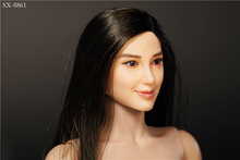 1/6 Scale Figure Accessory Similar Angelababy Asian Beauty Female Head Sculpt Carving Model for 12 Action Body 1 6 scale asian beauty girl lingling head w black long straight hair for 12 action figure accessory collection doll toys gift