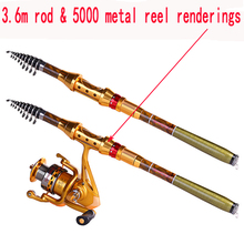 Superhard Carbon Fiber Rock Fishing Rod 2.4 2.7 3.0 3.6M Sea Fishing Pole Rods High Quality Telescopic Rod