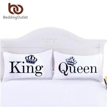 Dekorační potah na polštář – Královna a Král