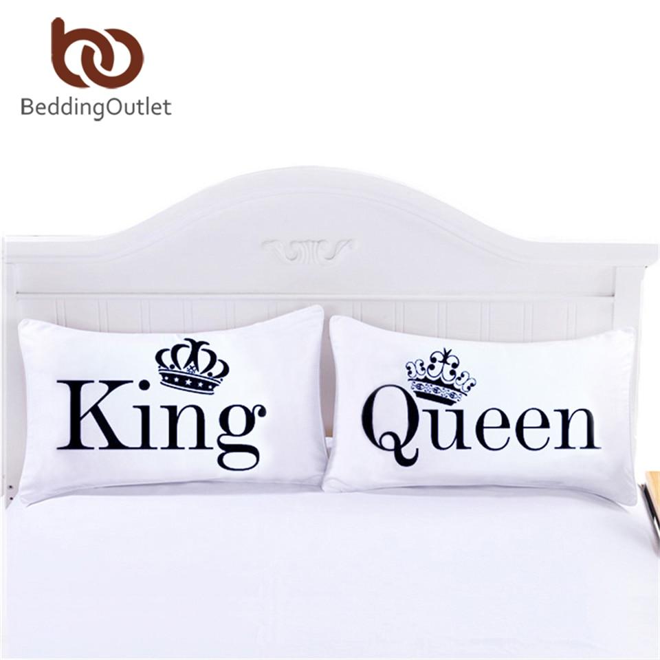 BeddingOutlet reina rey funda de almohada decorativo almohada cuerpo diseño llano cama calificada 20 pulgadas x 30 pulgadas cama Valentin