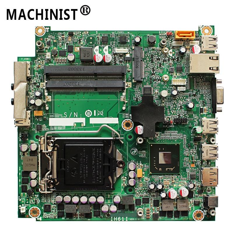 03T8194 03T7347 For Lenovo M72E M92P M4350Q IH61I desktop motherboard LGA1155 DDR3 H61 03T8194 03T7347