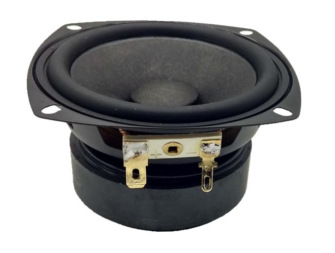 все цены на 2PCS 3F-1 Aucharm 3inch full frequency speaker driver unit black mixed paper cone long stroke rubber surround 4/8ohm 10W Square онлайн