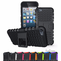 For Apple IPod Touch 5 Touch 6 Case High Quality Hybrid Kickstand Rugged Rubber Armor Hard