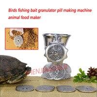 pellet mill Manual Birds Fishing Bait Pill Making Machine/stainless steel poly pelleter Rotary Tablet Press 1.5,2,2.5,3mm