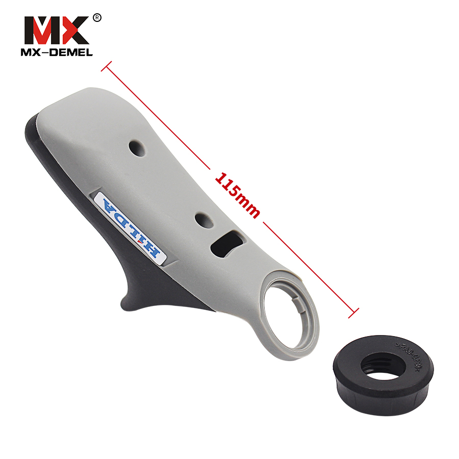 MX-DEMEL  Detailers Grip Attachment Rotary Tool Attachment For Mini Drill Grinder Handle Grips Bar Dremel Tools Accessory