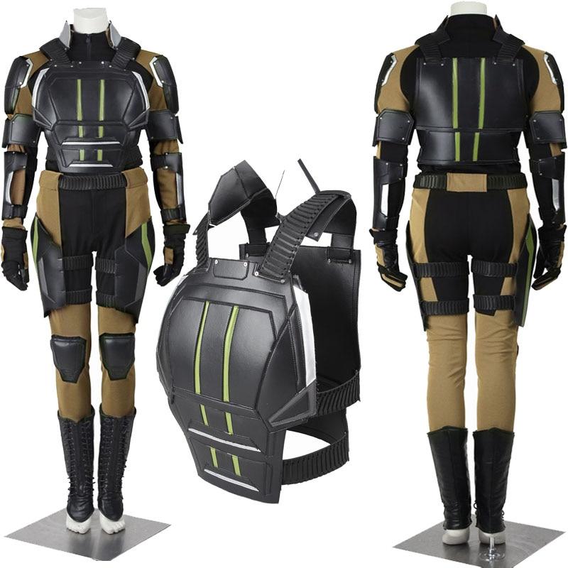Hallowmas NEW Exclusive COS X-Men: Apocalypse Cosplay Mystique Raven Dark Holme Cosplay Costume Customize Handmade Suit