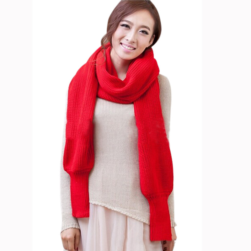 Fashion-Woman-Shawls-Women-Scarves-Solid-Sleeves-Scarf-Winter-Warm-Knitting-Long-Soft-Wraps-Scarves-Novelty (1)