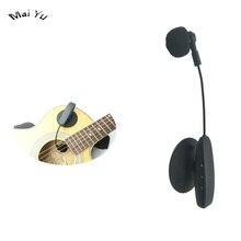 New 40m UHF Instrument Saxophone Bass Violin Horn Guitar Wireless Microphone Condenser Microfone for Music Recording стоимость