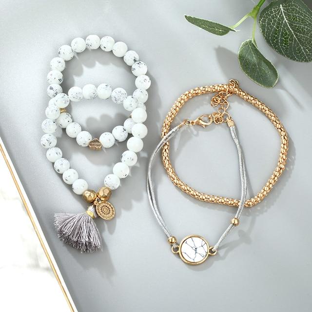 Men's And Women's Bracelets 4 Pieces / Set  4