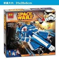 2017 New Hot Sale Bela 10375 369pcs Star Wars Anakins Custom Jedi Starfighter Building Blocks Toys