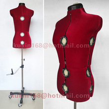Adjustable tailor mannequin, Female dressmaker mannequin