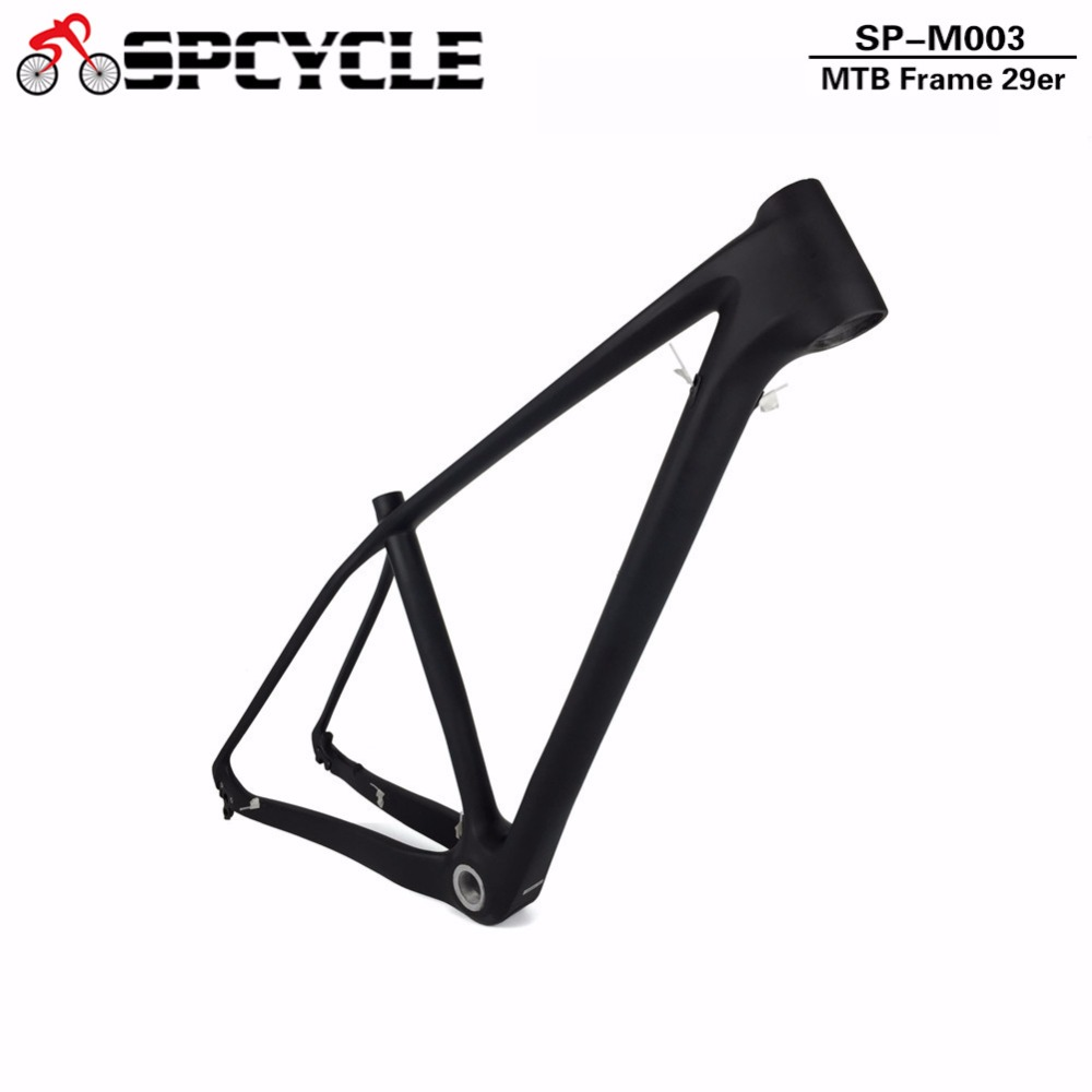 T1000 29er MTB Carbon Rigid Bicycle Frames,29er Carbon Mountain Bike Frames Thru Axle 142*12mm&135*9mm Available 15