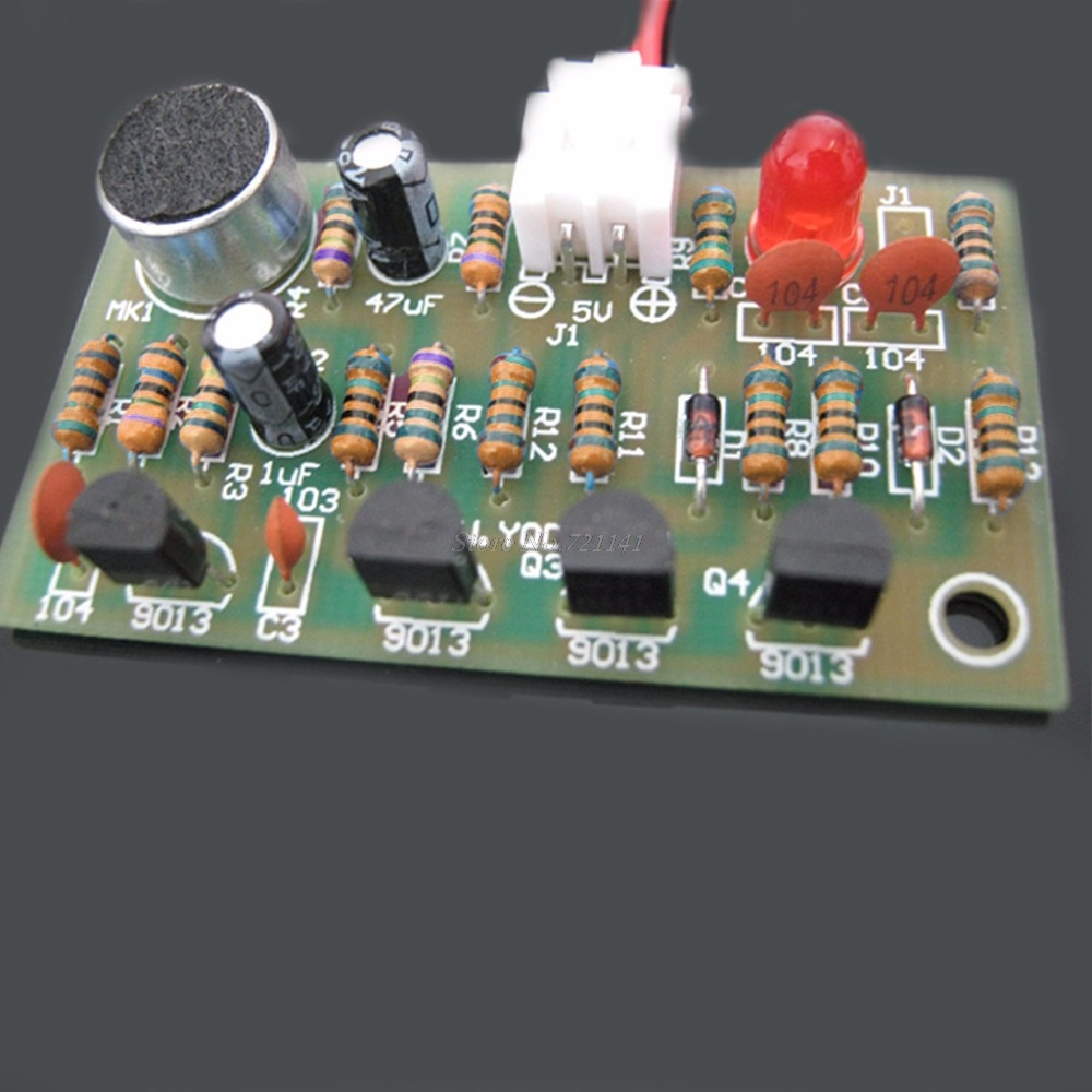 5v Voice Control Switch Suite Diy Kits Electronic Circuit Clap Production Project Module Board Acoustic Integrated Circuits In From