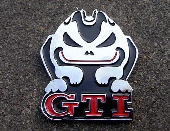 для Фольксваген VW ГТИ злой кролик маркировки металла 3D стерео стандартный автомобиль модифицированный персонализированные украшения автомобиля наклейки