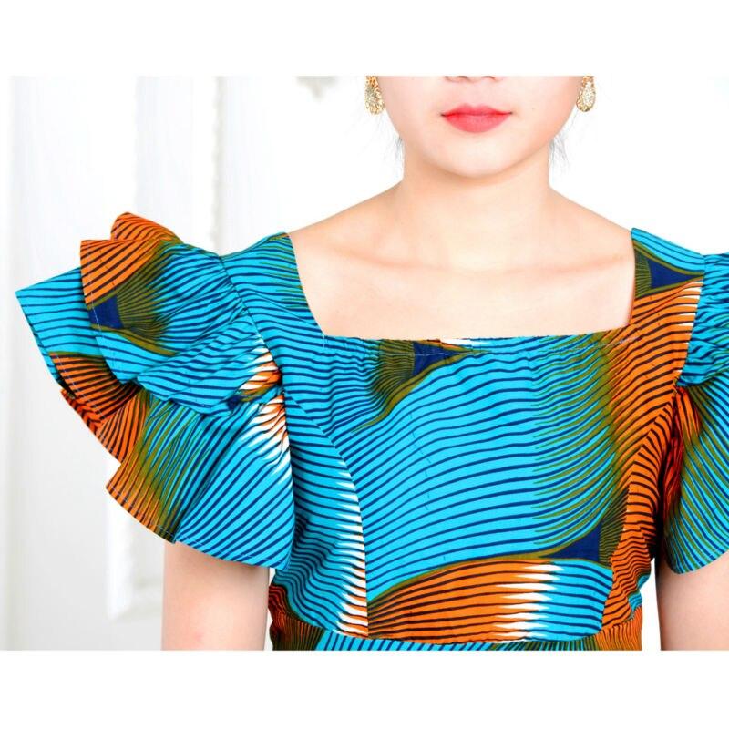 Izvorni afrički print klasični suknja set za žene AFRIPRIDE - Nacionalna odjeća - Foto 6