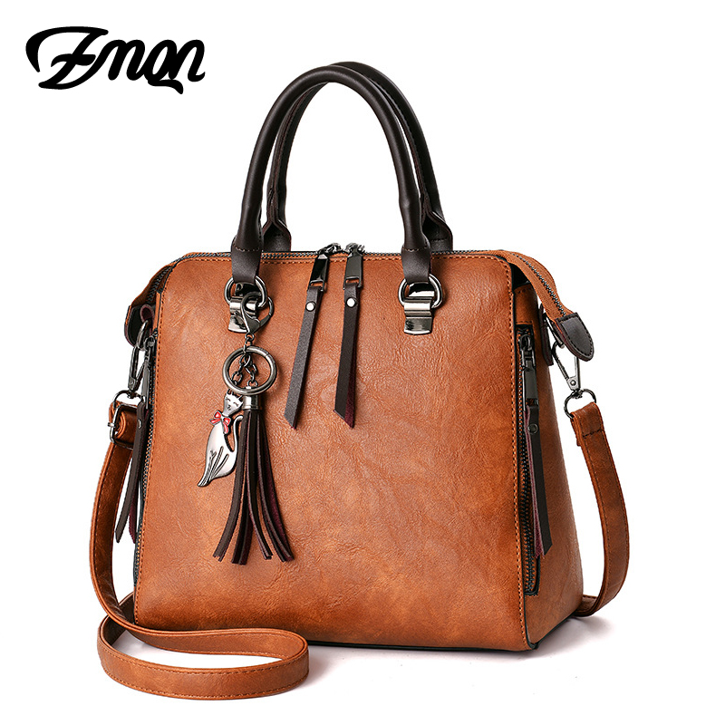 Shoulder Bags Women Leather Designer Handbags Ladies Hand Crossbody Bag For Women Famous Brand Vintage Fringed Zipper Shell C619 famous messenger bags for women fashion crossbody bags brand designer women shoulder bags bolosa