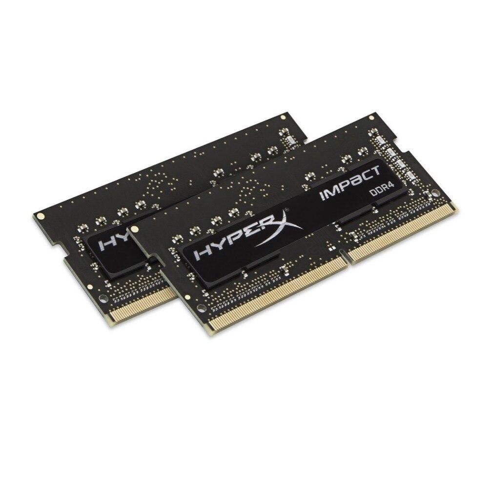 Kit HyperX Impact 8 go DDR4 2133 MHz, 8 go, 2x4 go, DDR4, 2133 MHz, SO-DIMM 260 broches, noir