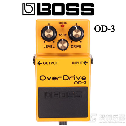 Boss Audio OD-3 Overdrive Pedal for Guitar and Bass boss ph 3