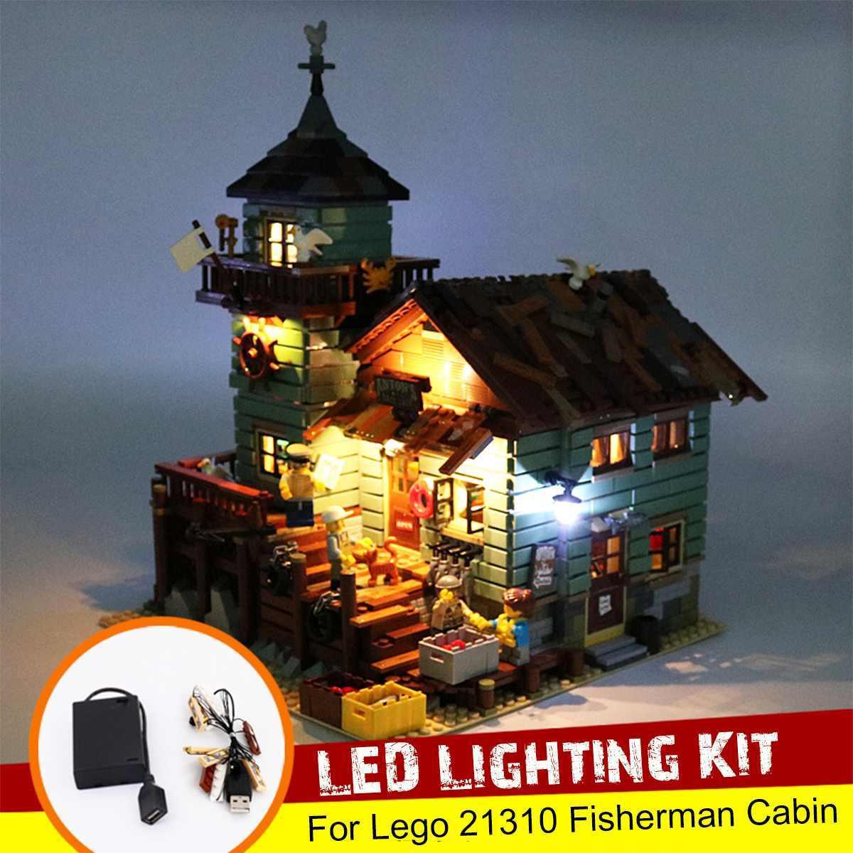 Zestaw oświetlenia LED tylko dla Lego dla 21310 dla, będzie to doskonały zakup zabawki cegły bloki z USB etui na baterię (Model nie wliczone w cenę)
