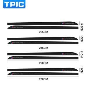 Image 2 - For BMW E90 E92 E93 F20 F21 F30 F31 F32 F33 F34 F15 F10 F01 F11 F02 G30 M Performance Side Skirt Sill Stripe Body Decals Sticker