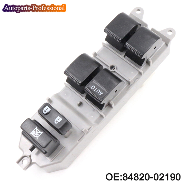 84820 02190 8482002190 power window switch for toyota corolla camry Power Window Switch Schematic 84820 02190 8482002190 power window switch for toyota corolla camry yaris rav 4 front left