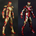 "2 Estilos 7 ""18 cm Idade de Ultron narverThe Iron Man Mark 42 Mark 43 Encaixotado PVC Action Figure Collectible Modelo Toy"