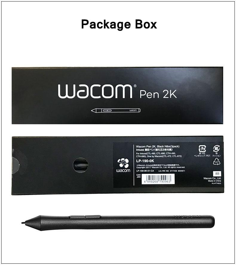 For Wacom Intuos Draw / Art / 3D / Comic Digital Graphic Drawing Tablet Pen (Wacom Pen 2K 2048 Pressure Levels )