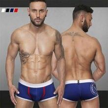 4 Сексуальные Планки Цвета Новый Дизайн Underwear Мужчины Мужчина Дышащие Эластичные Боксеры Шорты Мужчины Производители 111235