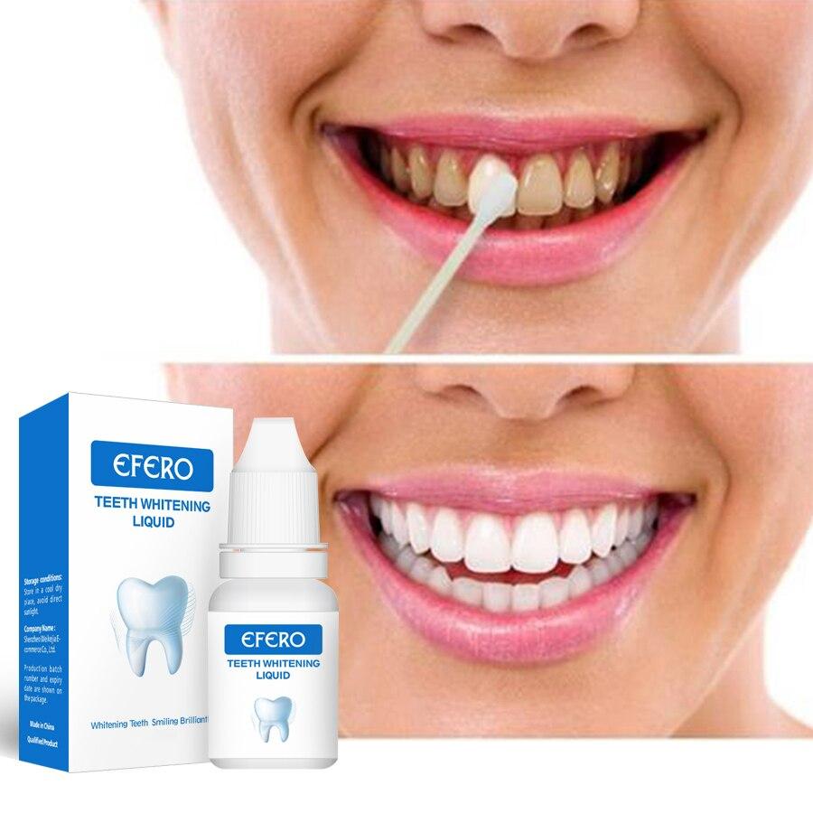1 Pcs Efero Zähne Bleaching Serum Oral Hygiene Essenz Effektive Entfernen Flecken Zähne Reinigung Essenz Bleichen Dental Produkte