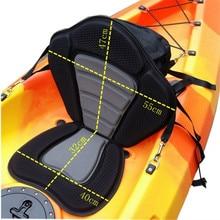 Adjustable Kayak Cushion Canoe Backrest Seat Inflatable Boat Seat With Storage Bag