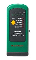 Home MASTECH MS6811 Handheld Network Cable Tester Line Tracker UTP and STP Wiring Test Meter Lan Tester