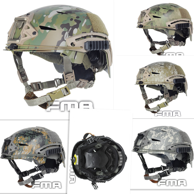 EXFIL Tactical Bump Helmet Rapid reaction Tactical Camouflage 8 color Helmet Hunting Caps