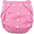 Новорожденный моющиеся многоразовые тканевые подгузники современные регулируемые органического хлопка мягкие подгузники все в одном для младенцев T0009