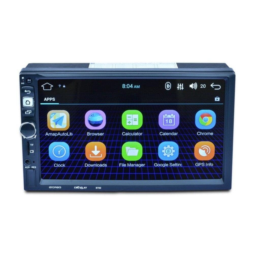 7 Android 5.1.1 автомобиля радио один 1 Din 1024*600 gps навигации wi fi Bluetooth 4 ядра головное устройство Автомобильный мультимедийный плеер
