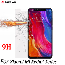 For Xiaomi Redmi Note 6 Pro 5 Pro Plus 6A 6 Pro Black Shark Redmi S2 Y1 Y2 lite Note5A 2.5D 9H Tempered Glass Screen Protector цены онлайн