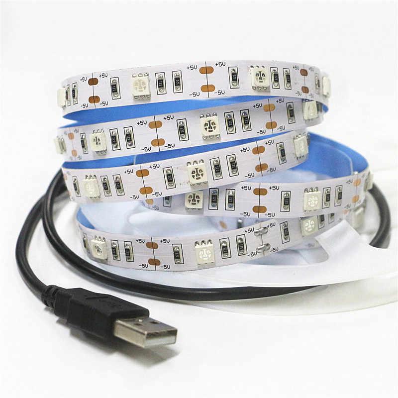50 см 1 м 1,5 м 2 м USB СВЕТОДИОДНЫЙ УФ-лента лампа 5050 SMD 30 светодиодный s/m DC 5 V USB Ультрафиолетовый гибкий светодиодный полосы света IP30 не Водонепроницаемый
