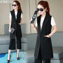 ФОТО new fashion slim coat windbreaker long style women cardigans vests outerwear autumn winter female vests clothing c1008