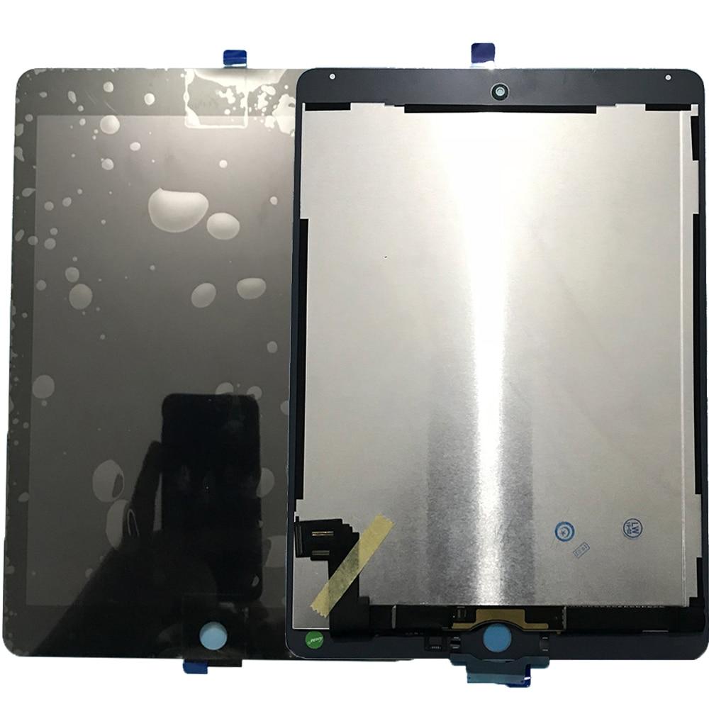 Teste 2 6 Classe AAA + Tablet Para A Apple iPad Ar 9.7 ''Touch Screen Digitador Display LCD Para A Apple iPad Ar 2 A1567 A1566 Montagem