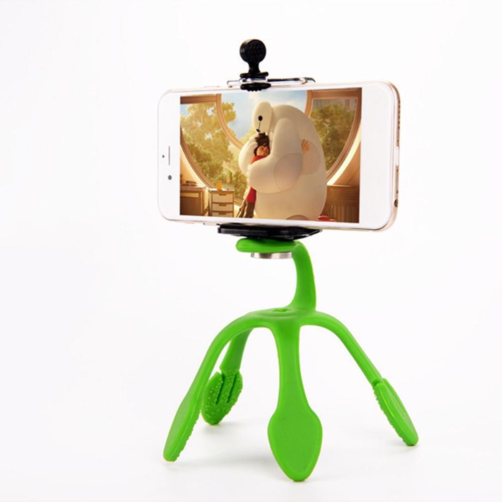 Universal 360 Degree Rotación Gecko Flexible Soporte para teléfono - Cámara y foto