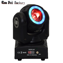 DJ lighting mini led moving head beam 60W dmx stage light стоимость