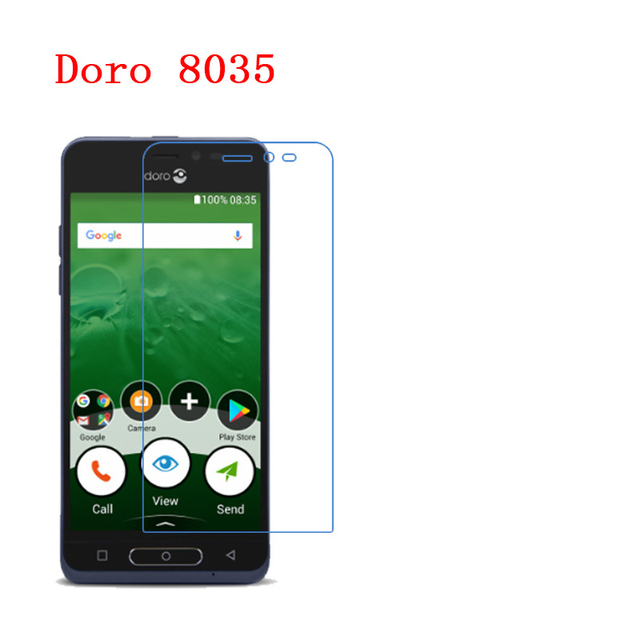 Для Doro 8035 9 H превосходная прочность и безопасность оргстекло Супер Ударопрочный Взрывозащищенный протектор экрана 9 H