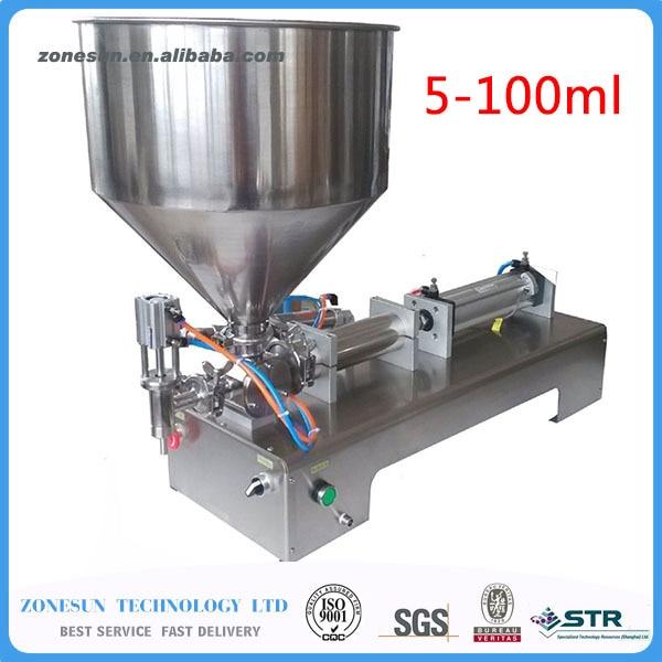 (5-100ml) pneumatic volumetric Softdrin liquid filling machine(pneumatic liquid filler for oil, water, juice, honey, soap)  цены