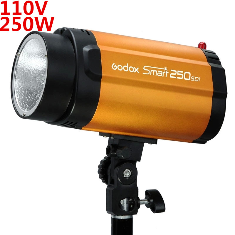 цены Godox Smart 250SDI 110V Photo Studio Mini Flash Strobe Monolight studio flash light flash lighting PSLF9B Free Shipping