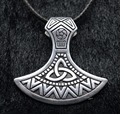 1pc Nordic Viking Pendant Celtics Necklace Viking Axe Talisman Necklace Jewelry XL-160