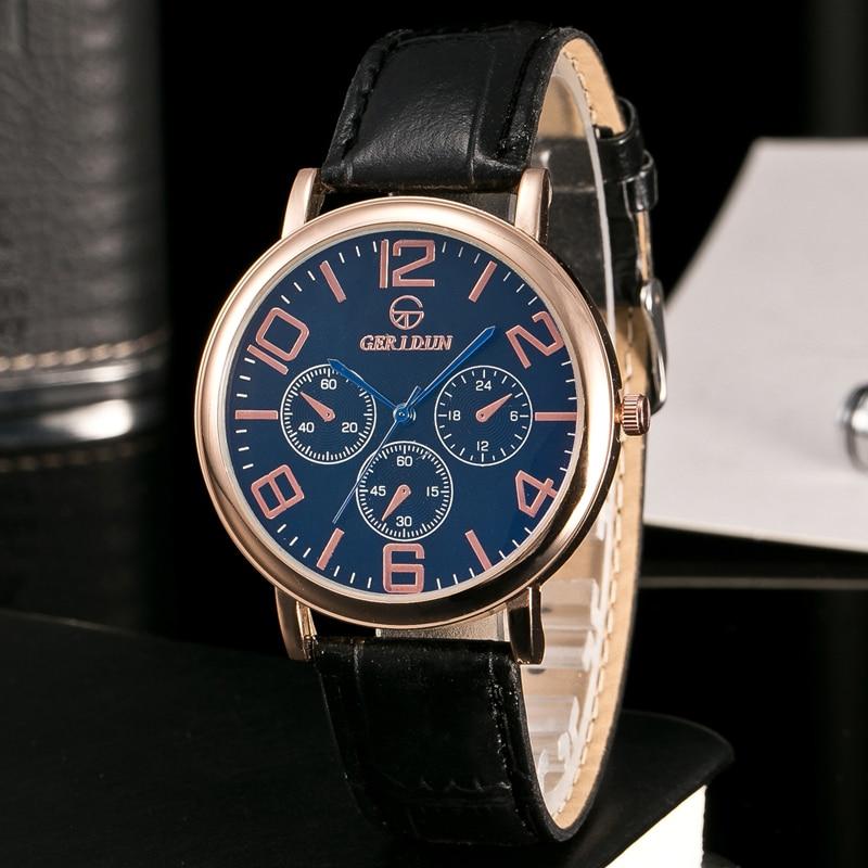 GERIDUN Reloj de los hombres de la marca de lujo famoso reloj de - Relojes para hombres - foto 6