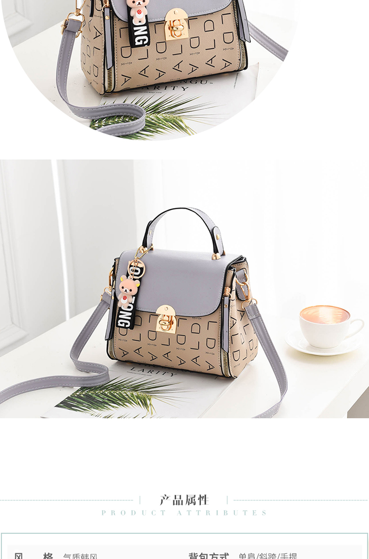 Popular Woman Handbags Fashion Leather Messenger Bag Trendy new one-shoulder diagonal small square bag Bolsa Feminina louis gg 61