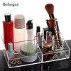 Clear Cosmetic Makeup Storage Display Organizer Box Lipstick Holder Stand Make Up Brush Eyeshadow Nail Polish